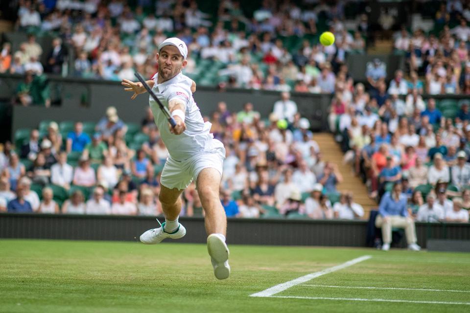Bradley Klahn at Wimbledon