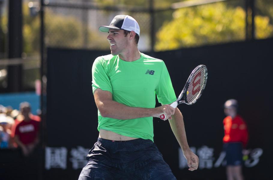 Reilly Opelka at the 2019 Australian Open
